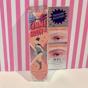 Benefit Gimme Brow+ Volumizing Eyebrow Gel in 3.75